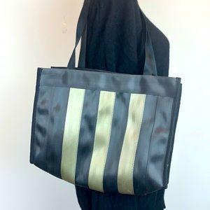 Seat Belt tote bag striped Kuala Lumpur recycled